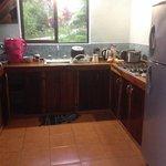 Nuestra cocina en Casa Trogón!