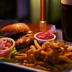 the Mortimer Burger at Finbarr's Irish Pub is not to be missed