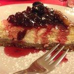 cheesecake con amarene buonissima!!!