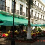 Fachada, restaurante exterior
