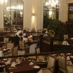 Grand old dining area