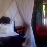 Full panoramic view of the bedroom