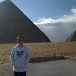 Spud at Pyramids
