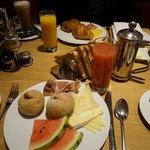 Unser Frühstück: Gut, aber zu teuer