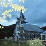 Eglise à proximité de Settler's cottage
