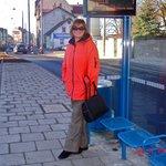 Трамвайная остановка рядом с отелем