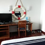 Room Interiors - Ship themed mirror