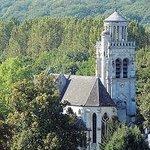 Eglise vue du chateau