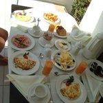 Breakfast, room service style