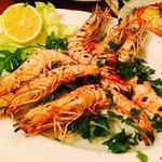 Grill shrimp