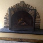 Our Hobbit fireplace!