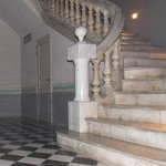 this staircase is the hotel's jewel!