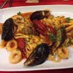 Sea food Foccacini