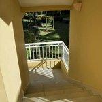 Stairwell (no handrails)