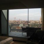 The Boscolo Budapest Superior Room 7th Floor -View