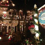 One of the most beautifully decorated B&Bs in Key West at Christmas