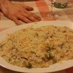 Porzione grande di risotto!!!!!!