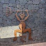 Wahrzeichen des Timanfaya Nationalpark