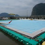 the floating football field- Ko Panyi