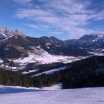 Austrian Alps  - view from Fieberbrunn slopes