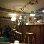 Cafe/reception/breakfast room