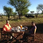 Breakfast on the Serengeti