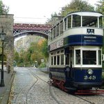 Bowes Arch and Tram