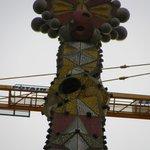 Uma das Torres ainda em obras