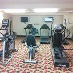 Carpeted gym