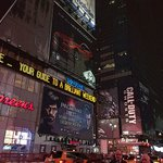 A walking distance to Times Square
