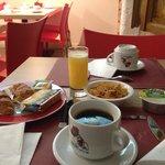 Mon petit déjeuner.