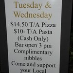 Pizzas $15 now but still fantastic price!