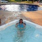 piscina e hidro aquecidas
