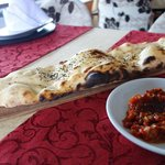 Delicious and freshly baked warm 'pita' bread