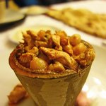 'Pottery' kebab at Sedef restaurant
