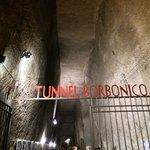 L'ingresso del Tunnel Borbonico