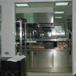 Elegant kitchen for preparing gourmet food