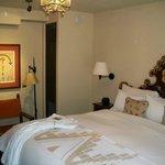 La Fonda Hotel Room