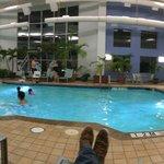indoor pool - no hot tub