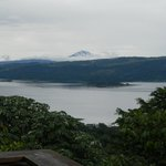 Lake Arenal from deck