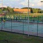 Tennis Courts alongside Stadium