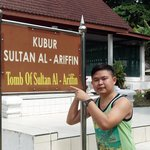 The most famous tomb in Pulau Besar Melaka -Tomb of Sultan Al-Arrifin
