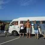 Boys & our Van enjoying Summer!