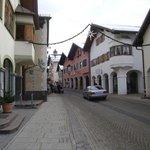 Typical Partenkirchen street