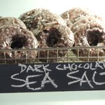 dark chocolate and sea salt