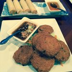 Spring Rolls and Tod Mun (Thai Fish Cakes)
