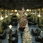 Christmas traditions should happen here. Very accommodating in rooms & restaurant.