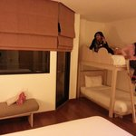 Ibis family room with bunk bed . ikram baig
