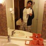 Nice bath room. ikram baig