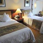 A twin bedroom